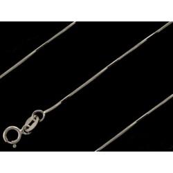 Łańcuszek złota linka,białe złoto 585 żyłka,50cm