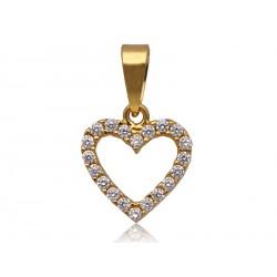 Wisior złote serduszko na prezent,złoto 585 serce