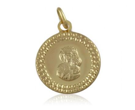 Medalik złoty pr.585 M.B Częstochowska