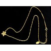 Naszyjnik gwiazd,celebrytka szczęśliwa gwiazdka pr.925
